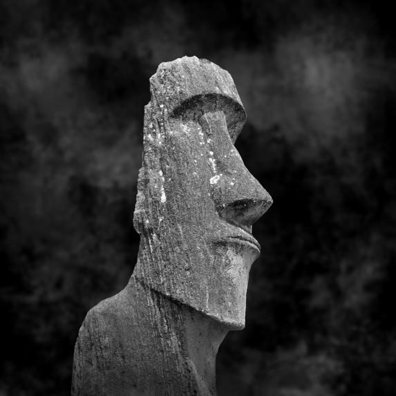Moai Sitting for Portrait No 8