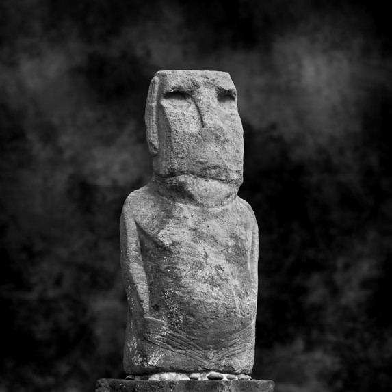 Moai Sitting for Portrait No 9
