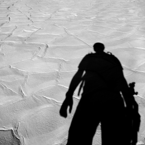Self Portrait in Death Valley
