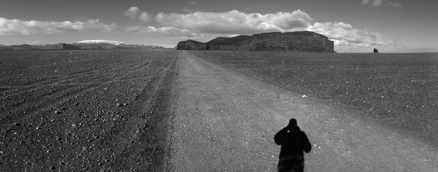 Self Shadow - Iceland Alluvial Fields