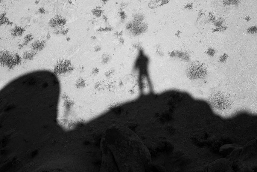 Self Shadow, Alabama Hills