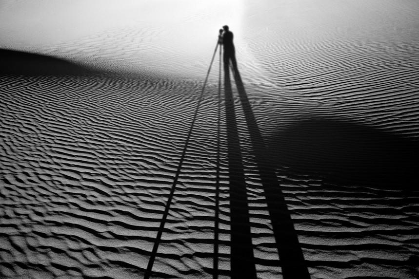 Self Shadow, Death Valley Dunes