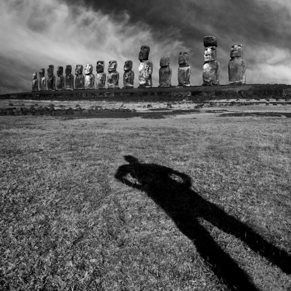 Self Shadow Tongariki