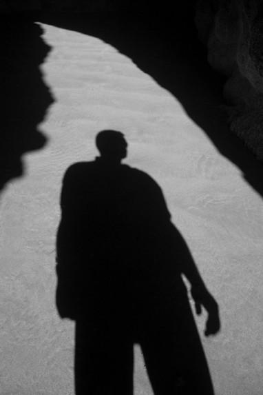 Self Shadow - Oregon Sea Cave