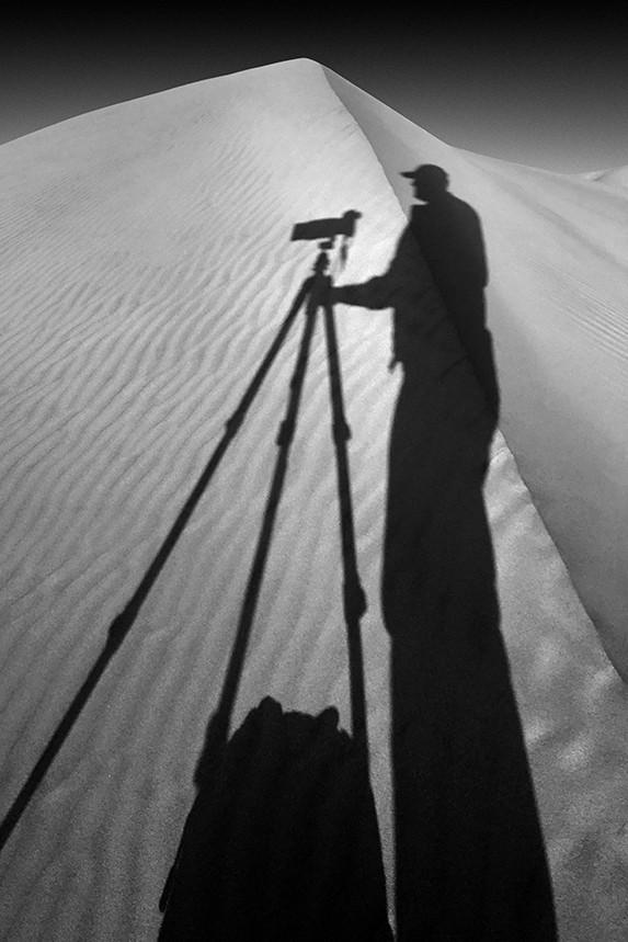 Self Shadow, Mesquite Dunes