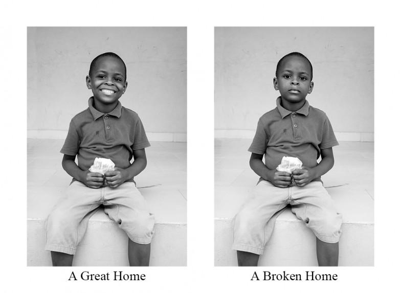 A Great Home / A Broken Home
