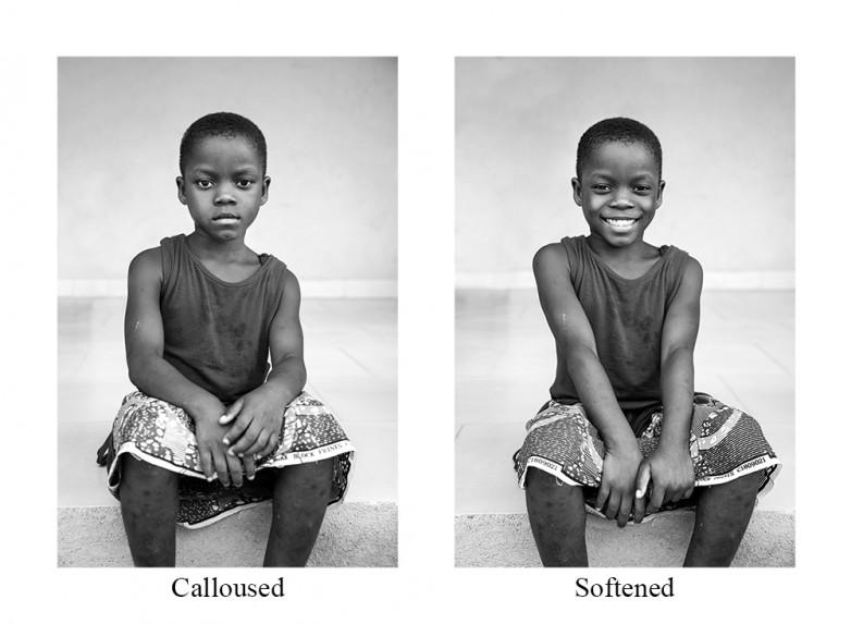 Calloused / Softened