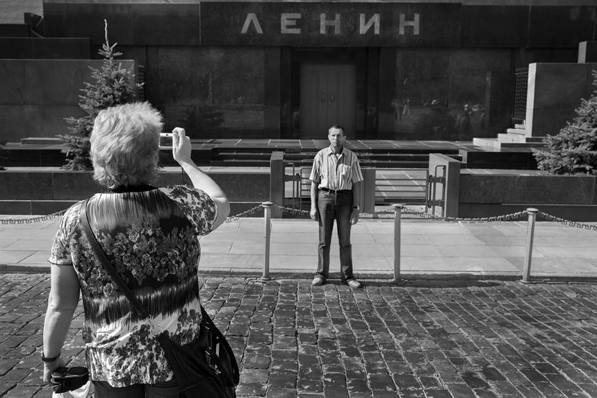 Smile, Lenin's Tomb, Russia 1
