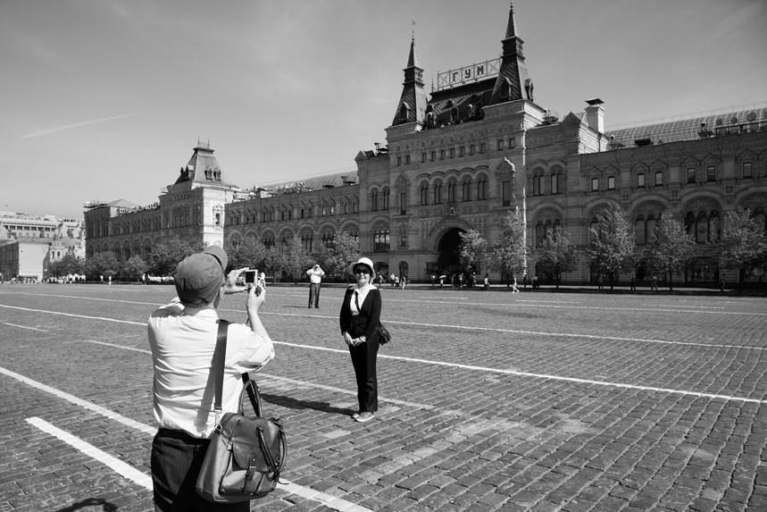 Smile, Red Square, Russia 1