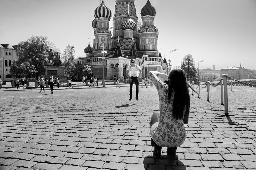 Smile, Red Square, Russia 2