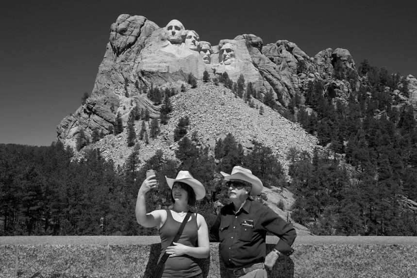 Smile No 50 Mt Rushmore