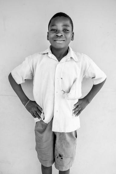 Children of Ghana Portrait No. 18