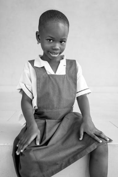 Children of Ghana Portrait No. 47