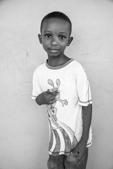 Children of Ghana Portrait No. 5