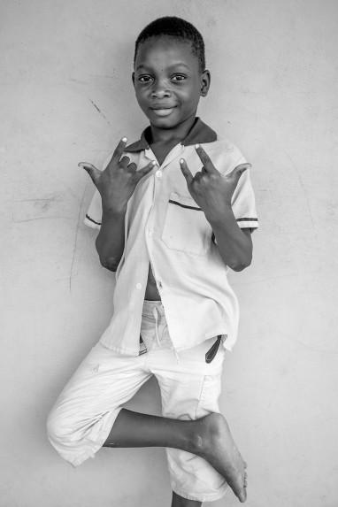 Children of Ghana Portrait No. 55