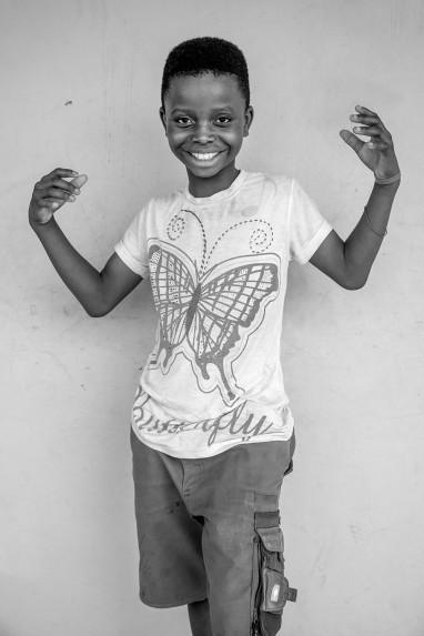 Children of Ghana Portrait No. 56