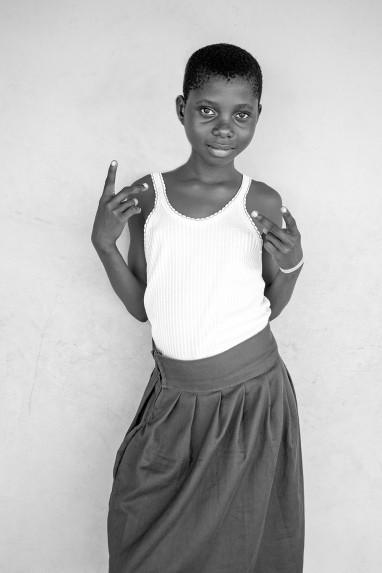 Children of Ghana Portrait No. 60