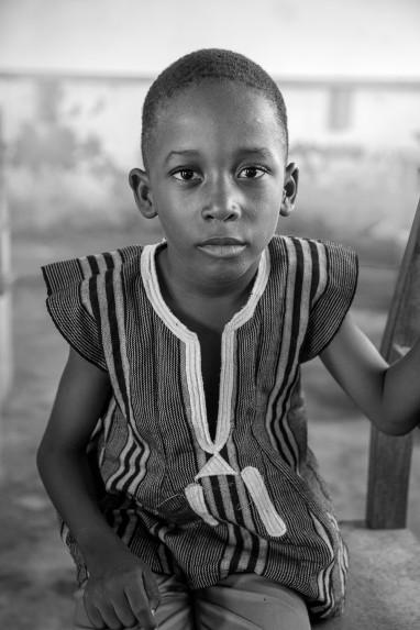 Children of Ghana Portrait No. 78
