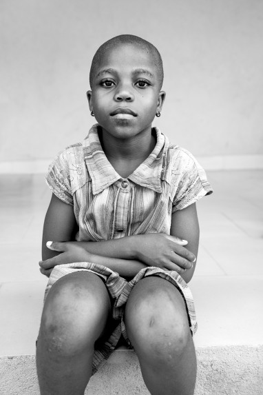 Children of Ghana Portrait No. 105
