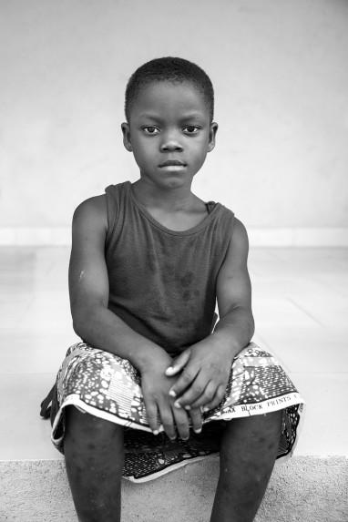 Children of Ghana Portrait No. 106
