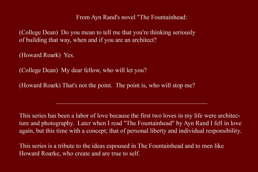 Artist Statement - The Fountainhead