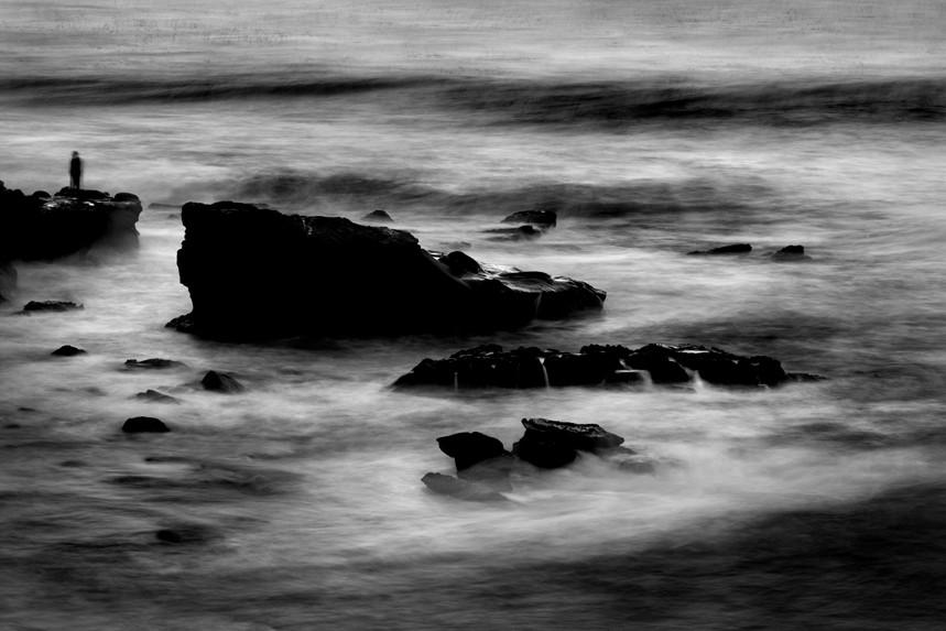 Lone Man No 5, La Jolla Cove