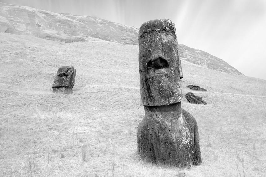 Moai at Rano Raraku No 10