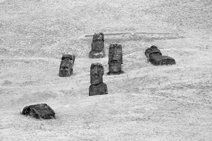 Moai at Rano Raraku No 13