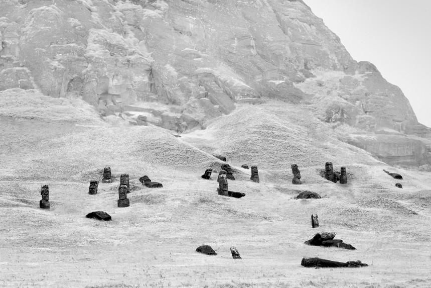 Moai at Rano Raraku No 14