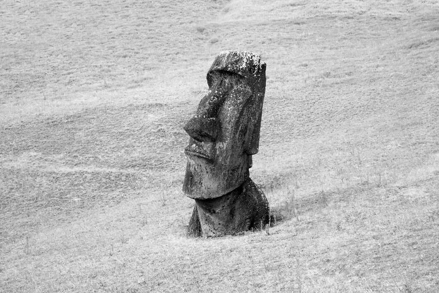Moai at Rano Raraku No 15