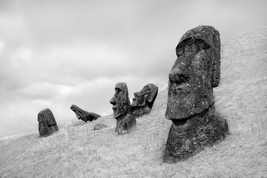 Moai at Rano Raraku No 3