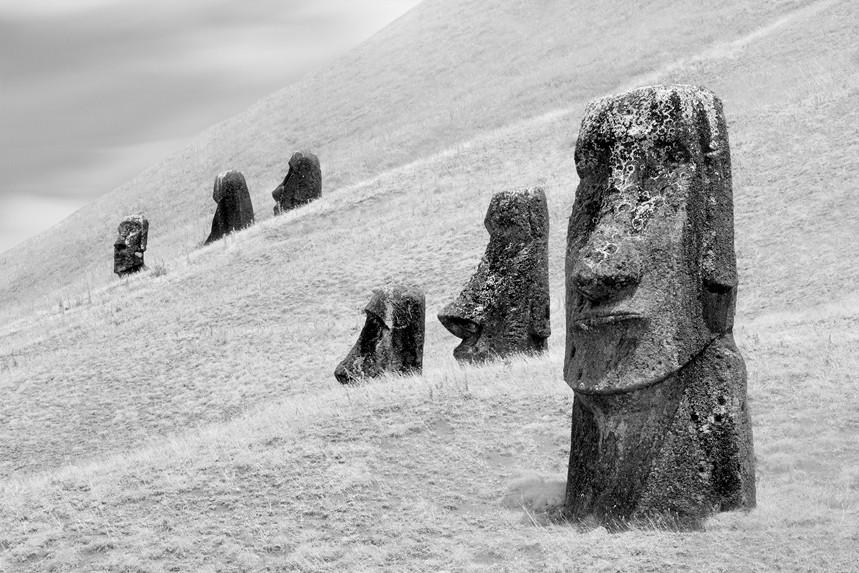 Moai at Rano Raraku No 4