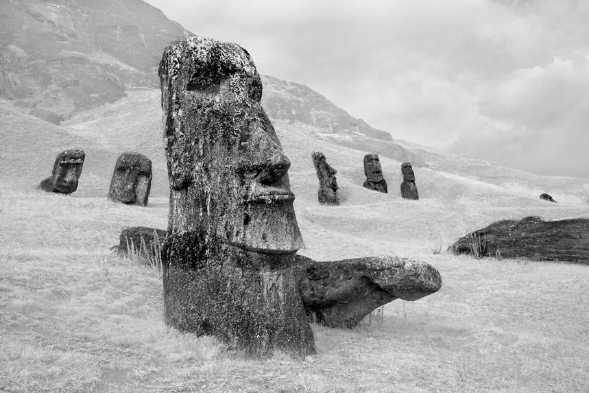 Moai at Rano Raraku No 5
