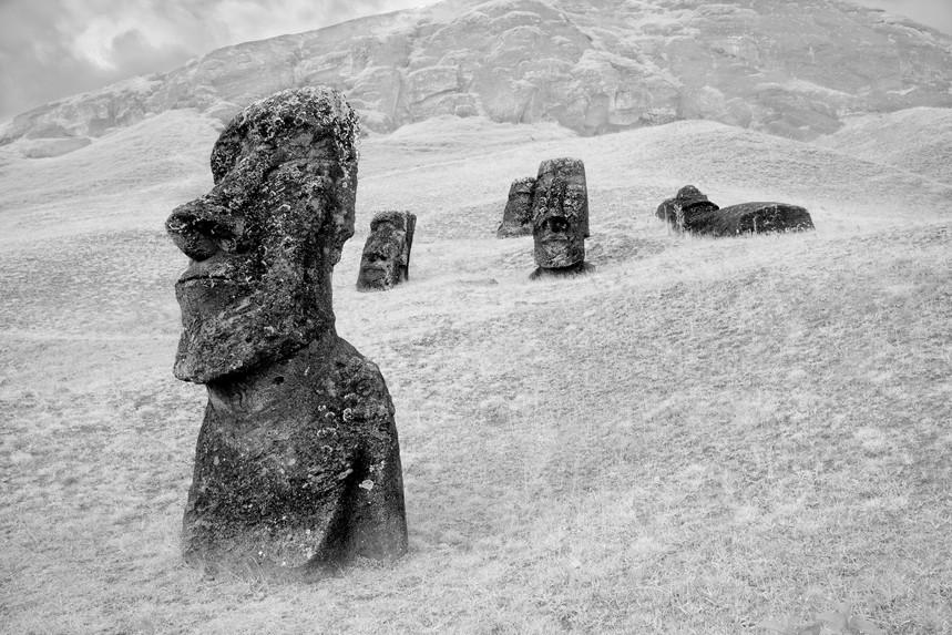 Moai at Rano Raraku No 6
