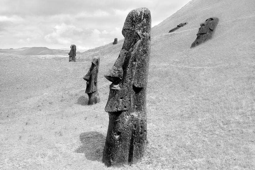 Moai at Rano Raraku No 7