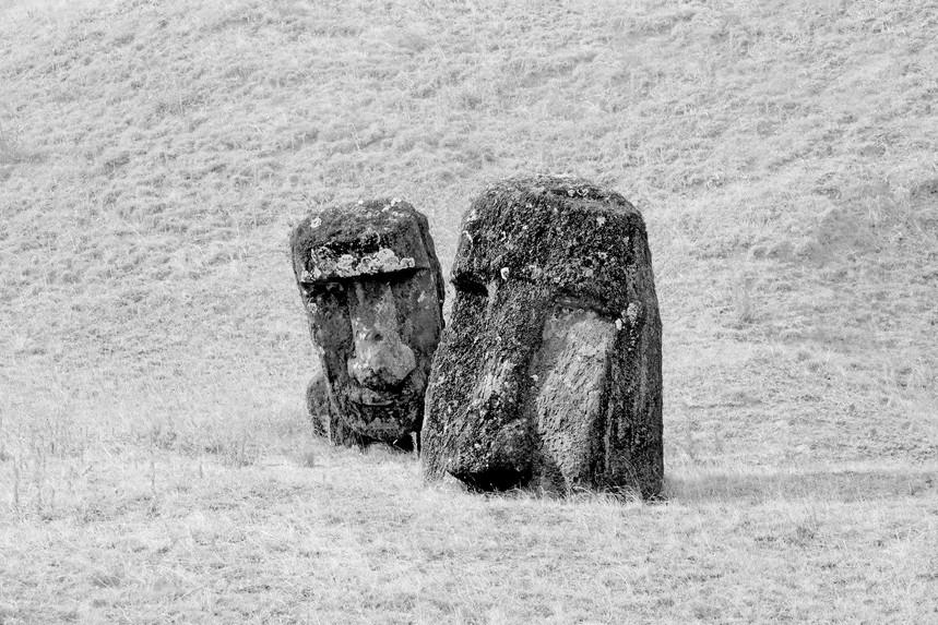 Moai at Rano Raraku No 9