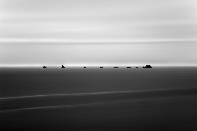 black and white simplicity - Monolith No 27